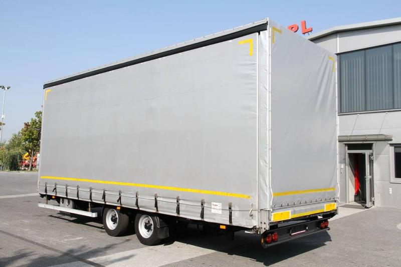 TRAMP TRAIL TARPAULIN TRAILER 10 PH MEGA 7.7 M 450