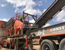 Constmach MOBILE JAW + IMPACT CRUSHING PLANT READY AT STOCK!