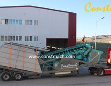 Constmach IDEAL SOLUTION FOR MOBILE CONCRETE PRODUCTION   60 m3h