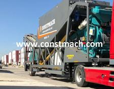 Constmach MOBILE 30 FULL AUTOMATIC MOBILE CONCRETE PLANT FOR SALE