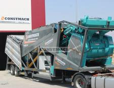 Constmach MOBILE 60 - 60m3h CAPACITY MOBILE CONCRETE PLANT