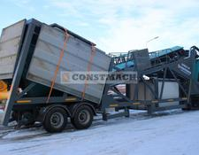 Constmach MOBILE 100 MOBILE CONCRETE PLANT CE CERTIFICATED