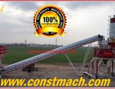 Constmach FIXED CONCRETE PLANT 160m3h CAPACITY CE CERTIFICATED