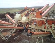 Constmach COMPLETE CRUSHING AND SCREENING PLANT 350 TPH FOR SALE