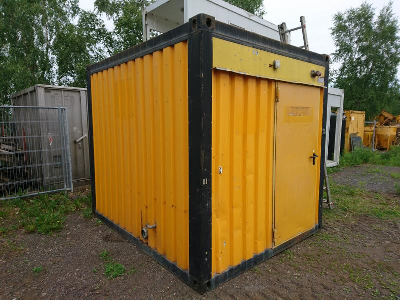 Machinesup 3 m Sanitärcontainer