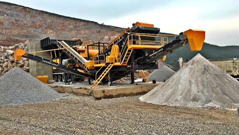 Fabo READY IN STOCK|PRO-150 MOBILE CRUSHING&SCREENING PLANT