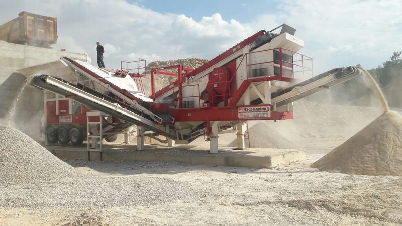 Fabo MOBILE CRUSHING AND SCREENING ** PRO 180 ** HIGH QUALITY