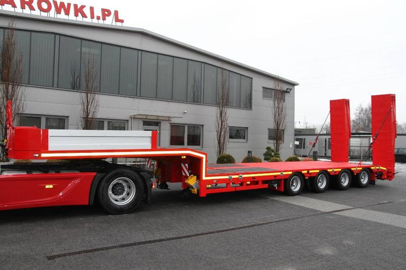 ES-GE 4 AXLE LOW LOADER EXTENDABLE METAL-FACH NOVA