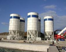 Constmach 300 TONNES CAPACITY CEMENT SILO BOLTED