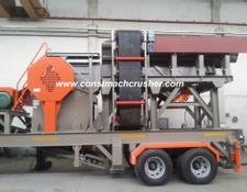 Constmach Mobile Jaw + Cone Crusher   FULL AUTOMATIC SYSTEM