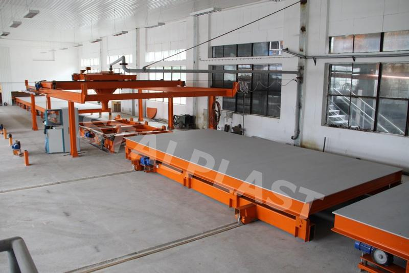 STALPLAST   Production lines for prefabricated houses