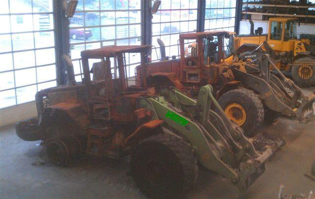 Volvo L 120 E SALES IN PARTS wheelloader Volvo