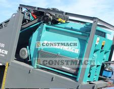 Constmach Twin Shaft Mixer