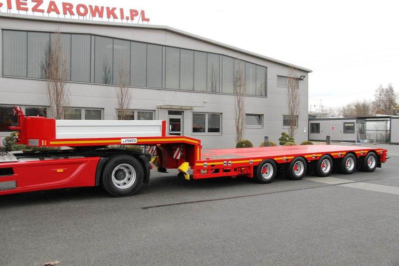 STOKOTA 5 AXLE LOW LOADER SEMI-TRAILER S5U.N2-04