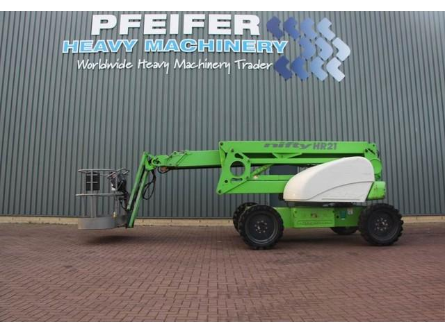 Niftylift HR21D 4x4 Diesel, 4x4 drive, 20.8m Working Height,