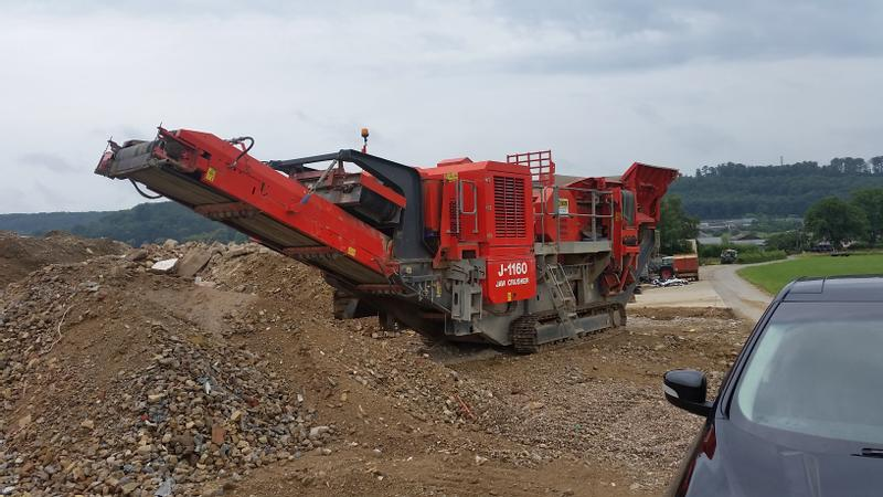 Terex J-1160 Jaw Crucher
