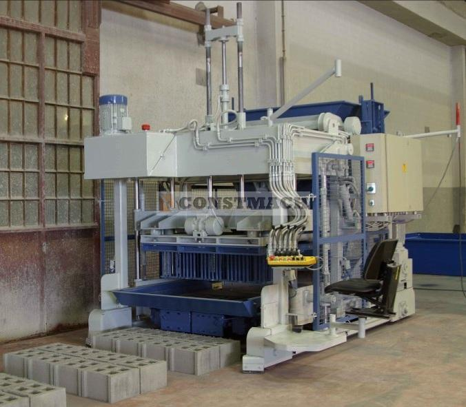 Constmach MOVABLE BLOCK MACHINE - 12.000 pcs / day