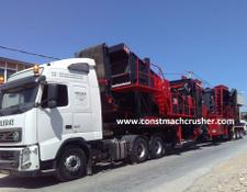 Constmach 250 tph Mobile Limestone Crusher READY AT STOCK