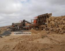 Constmach JS-2 MOBILE JAW + IMPACT CRUSHING PLANT CE CERTIFICATED